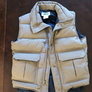 Vintage REI down vest